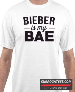 """Bieber is my Bae"" Matching T Shirt"