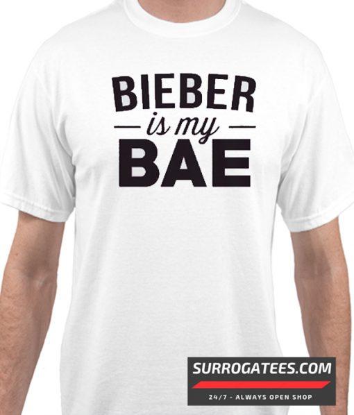 """Bieber is my Bae"" Matching T Shirt"