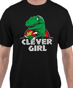 -Rex Clever Girl Matching T Shirt