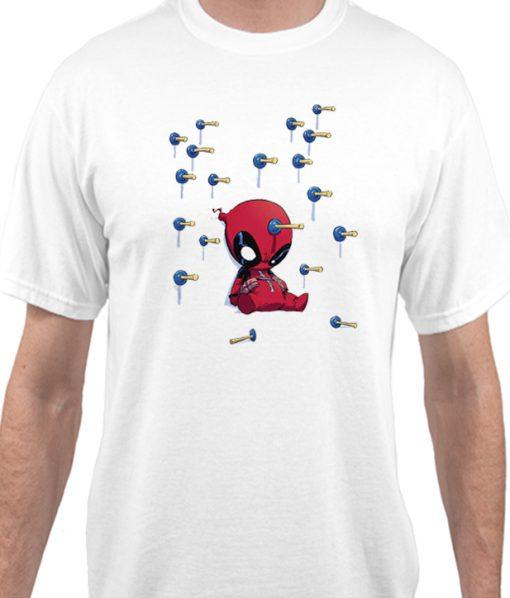 Tiny Deadpool Cute Matching T Shirt