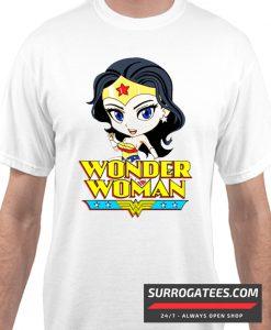 Wonder Woman Cartoon Matching T Shirt