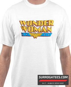 Wonder Woman Logo Matching T Shirt