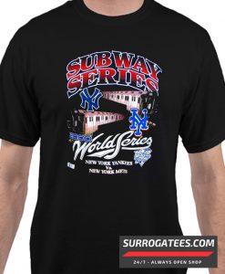 Yankees Mets 2000 Subway World Series Matching T Shirt
