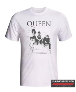 Queen Group Band Stairs Official T-Shirt