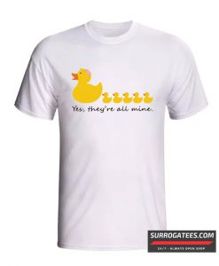 Rubber Duck Mom of Five funny Mother's day T-Shirt