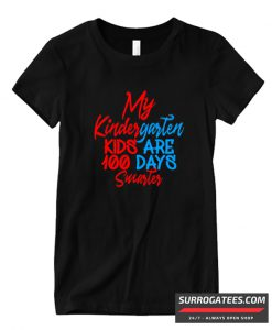 100 Days Of School Design Matching T Shirt