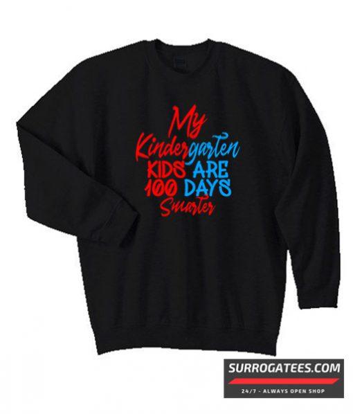 100 days of school Design Matching Sweatshirt