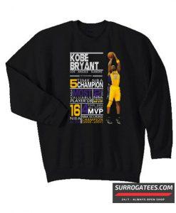 2019 Kobe Bryant champion mvp black mamba Matching Sweatshirt
