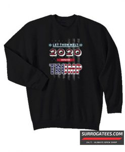 2020 Vote for Trump Matching Sweatshirt
