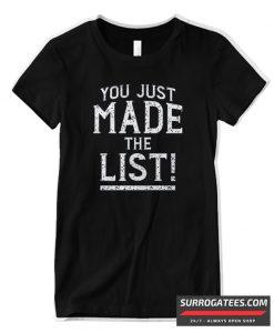 You Decide Emotion Matching T Shirt