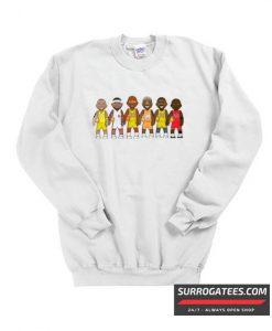 Legends Michael Jordan Lebron Matching Sweatshirt