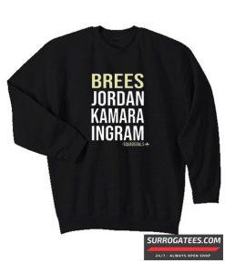New Orleans Saints Shirt Brees Jordan Kamara Ingram Matching Sweatshirt
