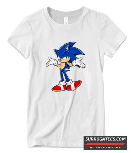 Sonic the Hedgehog Print Matching T Shirt