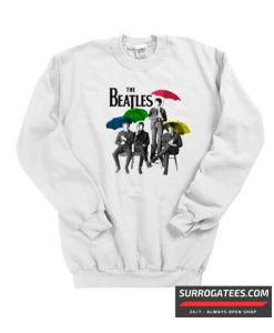 The Beatles Umbrella Matching Sweatshirt