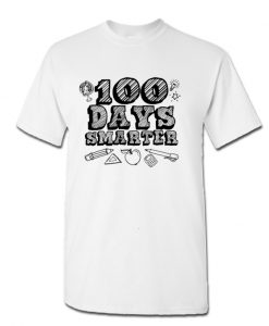 100 Days Smarter Funny 100 Days Of School LT T Shirt