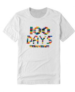 100 Days of School LEGO LT T Shirt