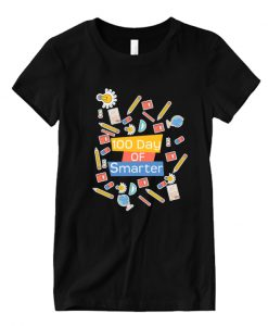 100 day of school 100 day of smarter LT T Shirt