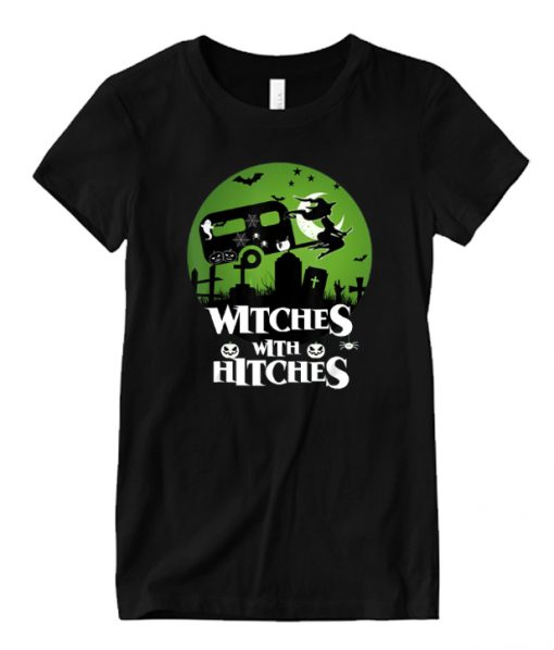 Witches With Hitches Camping Caravan LT T Shirt