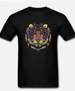 Tiger Native American Indian Animals LT T Shirt