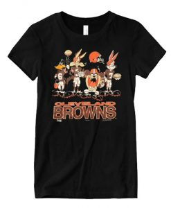 1994 NFLP Cleveland Browns Looney Tunes Vintage Graphic T Shirt